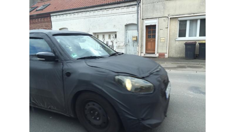Next generation Suzuki Swift spied testing