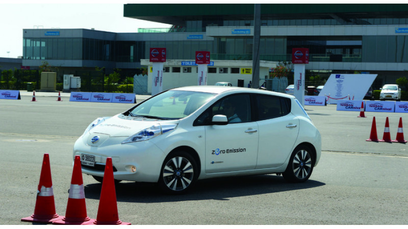Nissan's driverless Leaf successfully test driven by NASA