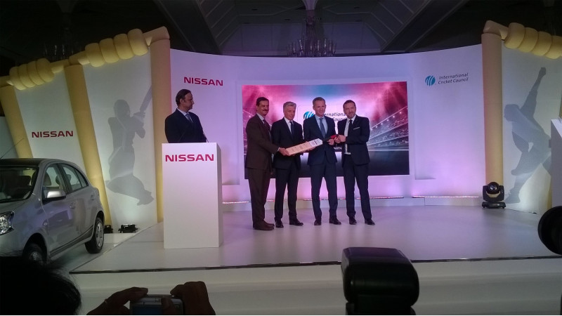 Nissan becomes the global partner for International Cricket Council