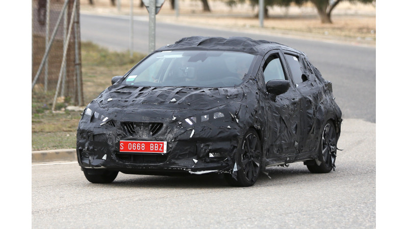 New Nissan Micra spotted testing for the first time