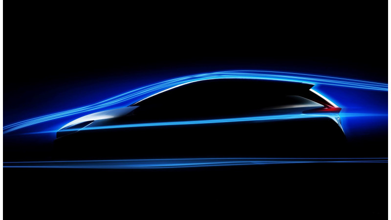 Nissan teased the aero of the new Leaf EV ahead of September debut