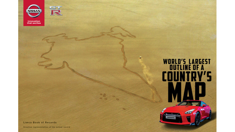 Nissan GT-R celebrates the Republic Day with a record attempt