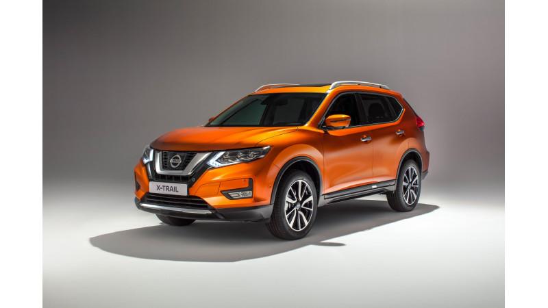 Nissan unveils updated X-Trail for European market