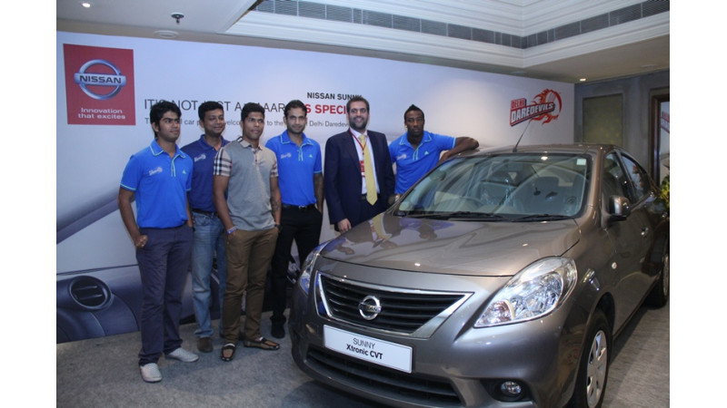 Nissan Motor India partners with IPL team Delhi Daredevils