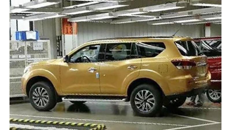 Production-spec image of Nissan Navara-based SUV emerge