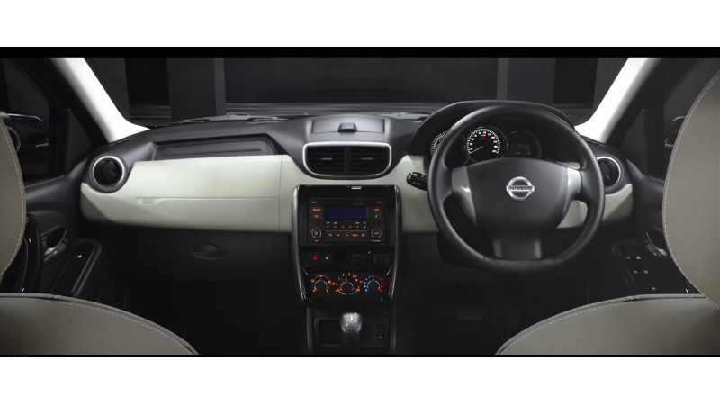 Nissan Terrano AMT gets mildly updated cabin