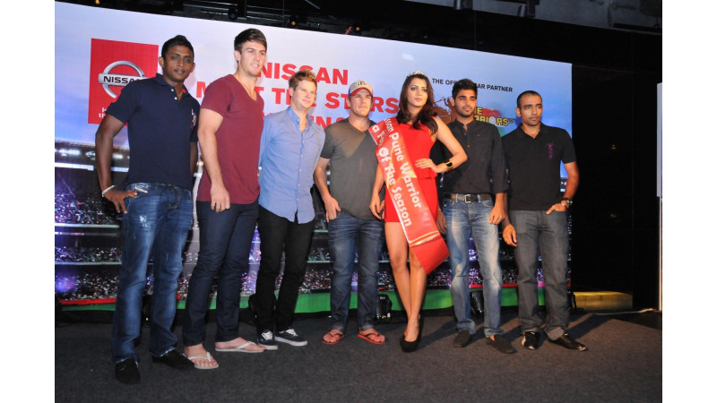 Nissan organises IPL Meet & Greet event for Pune Warriors India