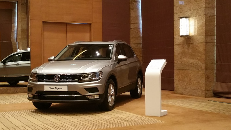 Volkswagen Tiguan: Top Four highlights