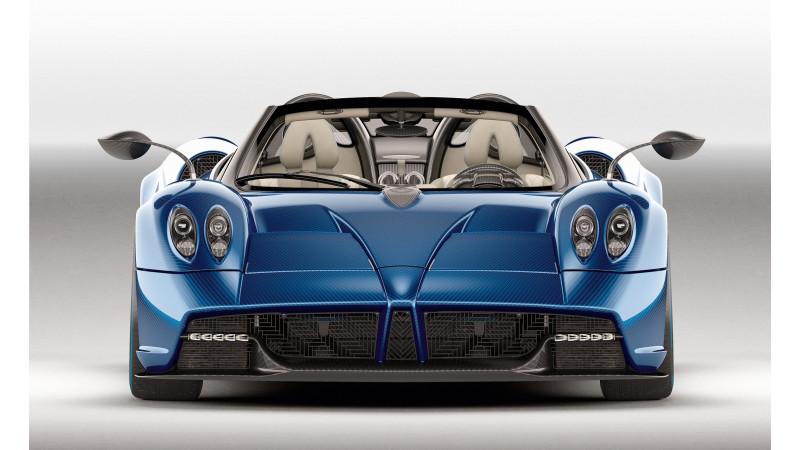 Pagani reveals the new Huayra Roadster