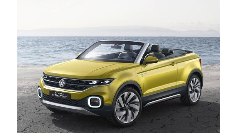 Volkswagen T-Breeze showcase in Geneva