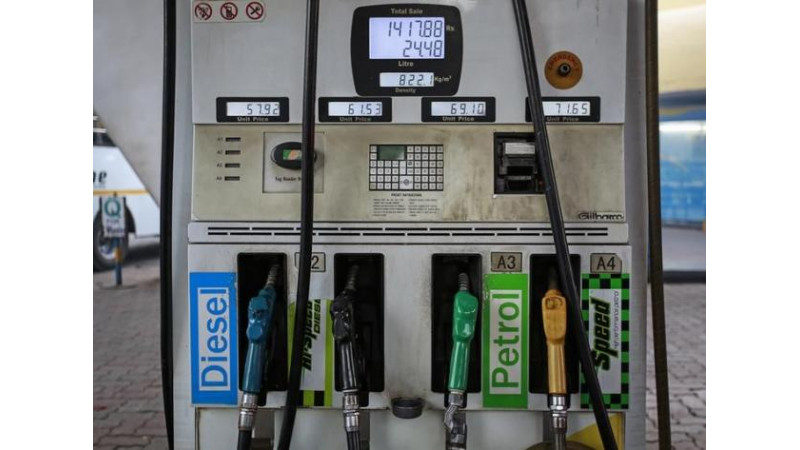 Petrol price drops by 63 Paise/litre, diesel by Rs 1.06 per litre