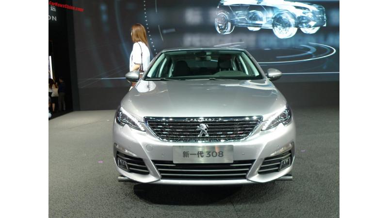 Peugeot unveils 308 sedan at 2016 Chengdu Auto Show