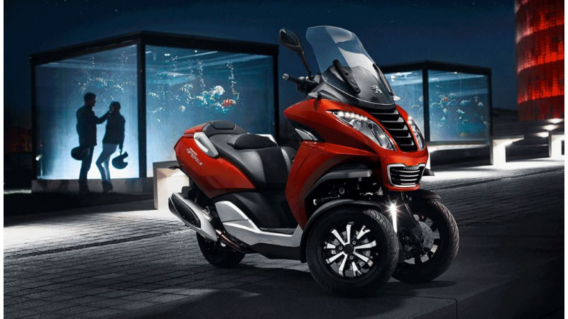 Peugeot two-wheelers to be displayed by Mahindra at the 2016 Auto Expo