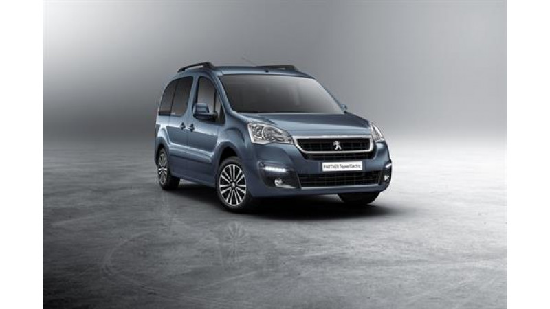 Peugeot reveals details for the new Partner Tepee Electric