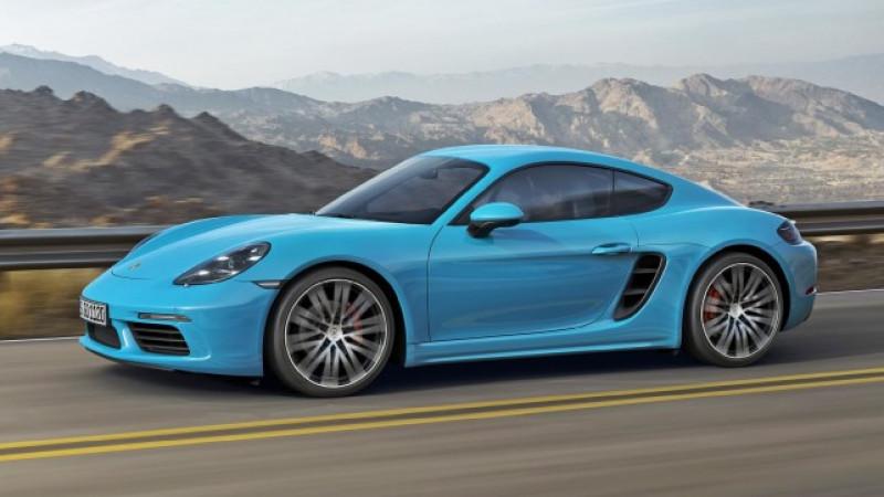 Porsche 718 Cayman unveiled