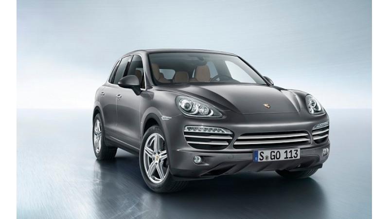 Over 400,000 units of Porsche Cayenne recalled