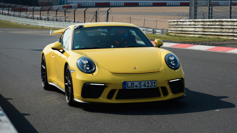 Porsche's new 911 GT3 smashes earlier model's Nurburgring lap time