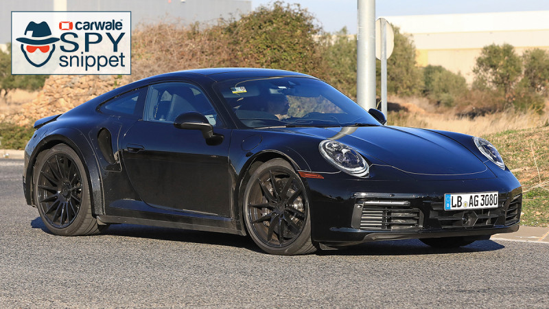 Porsche spotted testing new-gen 911 Turbo