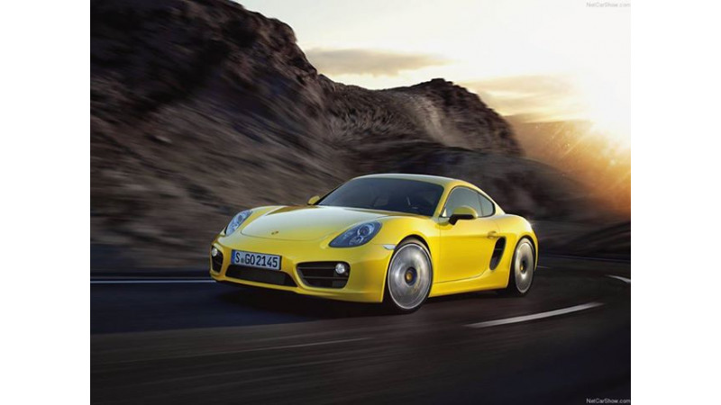 Porsche India launches Cayman S at Rs. 93.9 lakh