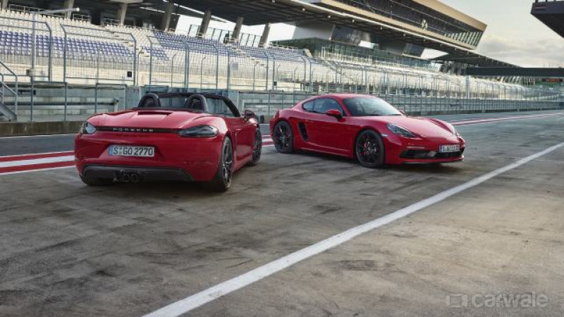 Porsche unveils GTS variant of 718 Cayman and Boxster