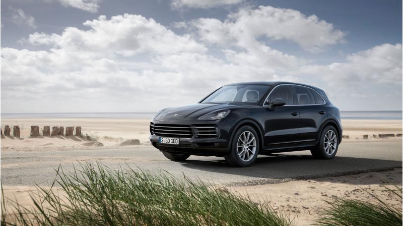 Third geneneration Porsche Cayenne revealed