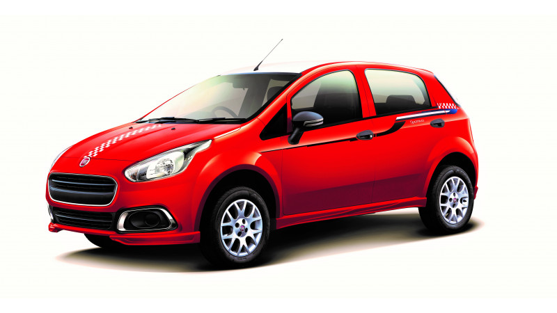 Fiat Punto Sportivo limited edition launched; priced at Rs. 7.1 lakh