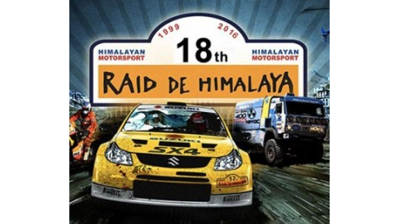 Maruti Suzuki 18th Edition Raid de Himalaya flagged off