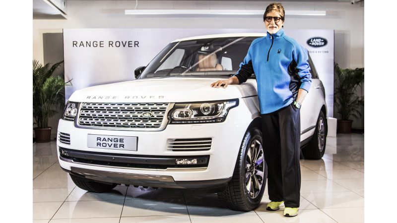 Range Rover Autobiography is delivered to Amitabh Bachchan