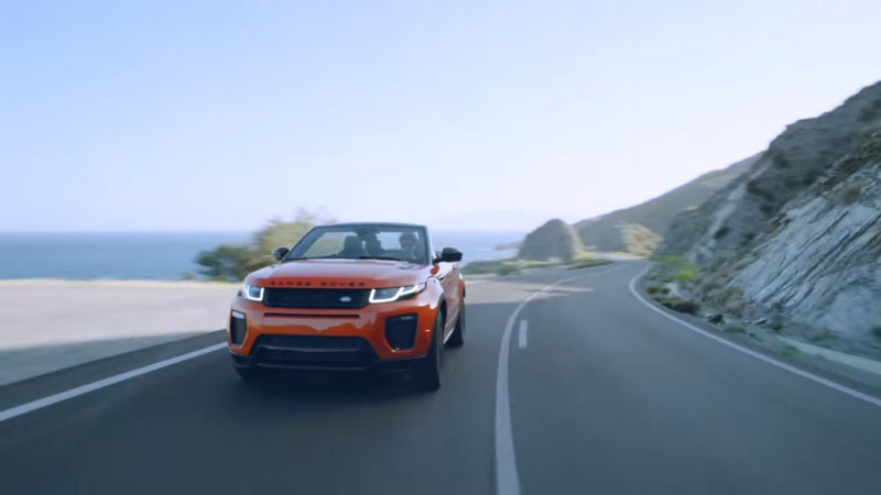 Land Rover  imports Range Rover Evoque Convertible to India for homologation