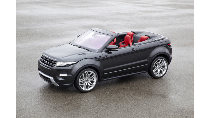 Range Rover Evoque convertible revealed ahead of Los Angeles motor show 2015