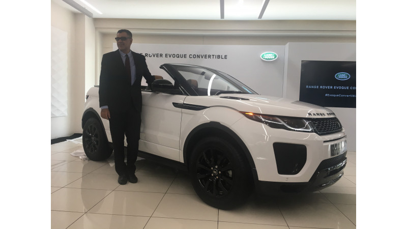 Range Rover Evoque Convertible launched in India at Rs 69.53 lakhs
