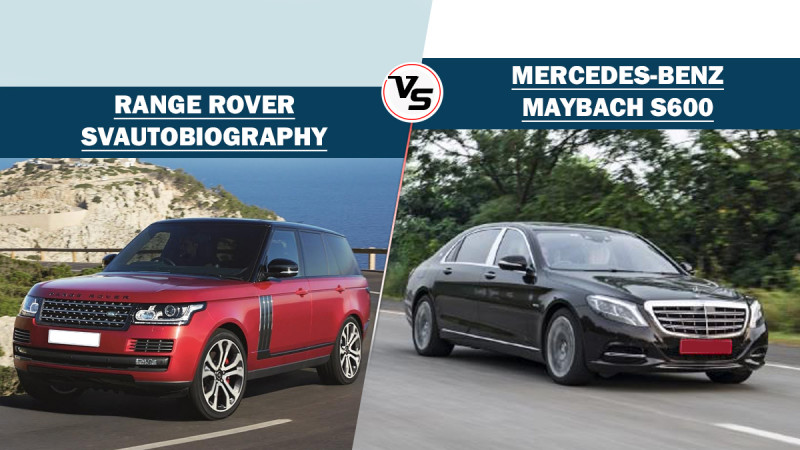 Range Rover SVAutobiography Dynamic Vs Mercedes-Benz S-Class Maybach S600: Spec comparison