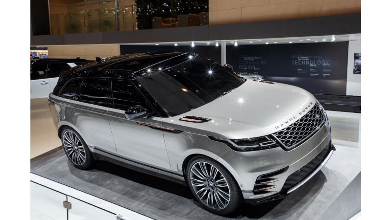 Geneva 2017: Range Rover Velar showcased