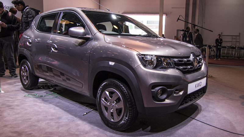 Renault Kwid 1.0-litre launched at Rs 3.83 lakh