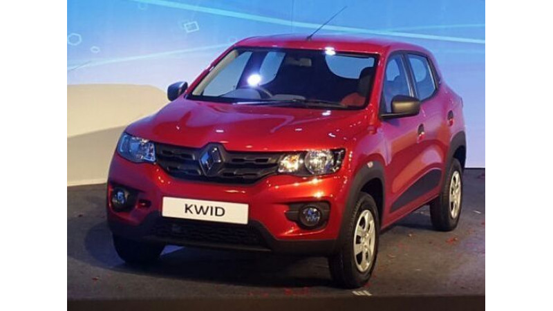 Renault Kwid to be locally assembled in Brazil