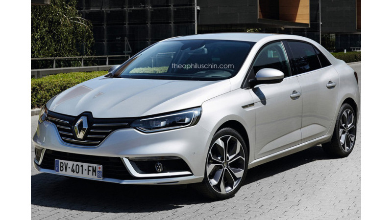 Renault Megane sedan may replace the Fluence