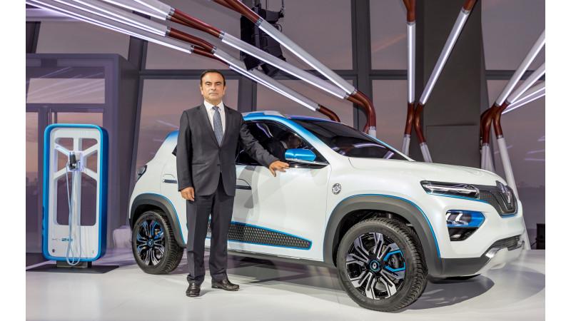 2018 Paris Motor Show - Renault K-ZE Concept