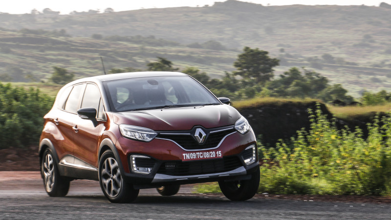 Renault Captur to be offered in Petrol automatic in 2019