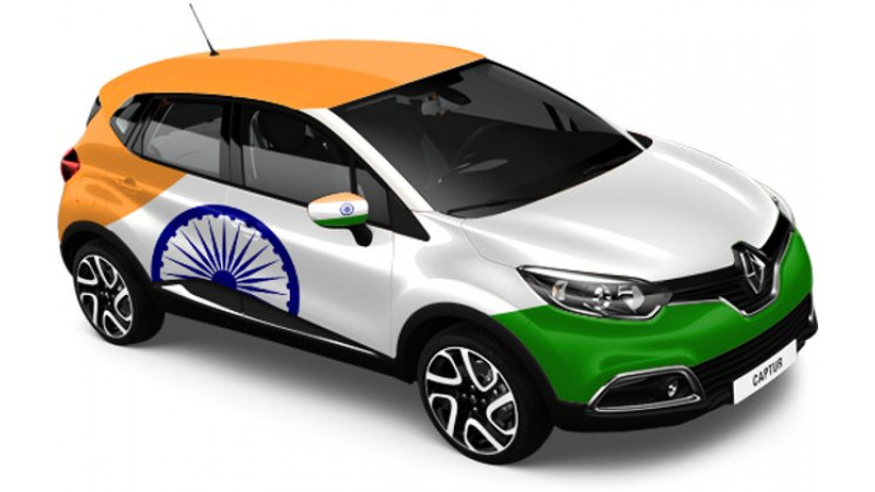 'Inter-Country Battle' for Renault Captur going on Facebook