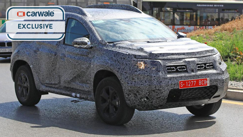 2018 Renault Duster spotted for the first time