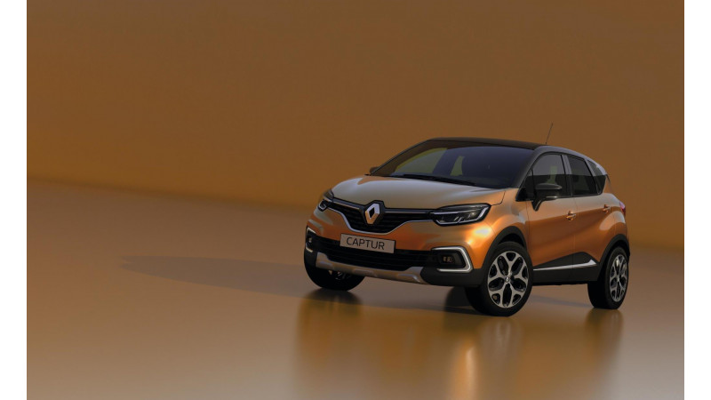 New Renault Captur to be shown tomorrow at Geneva Motor Show