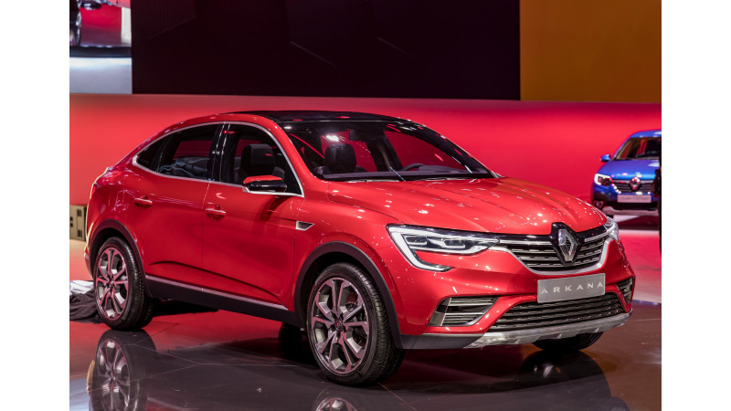 Renault Arkana revealed at 2018 Moscow Motor Show