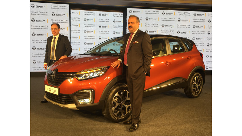 Renault launches Captur in India at Rs 9.99 lakhs