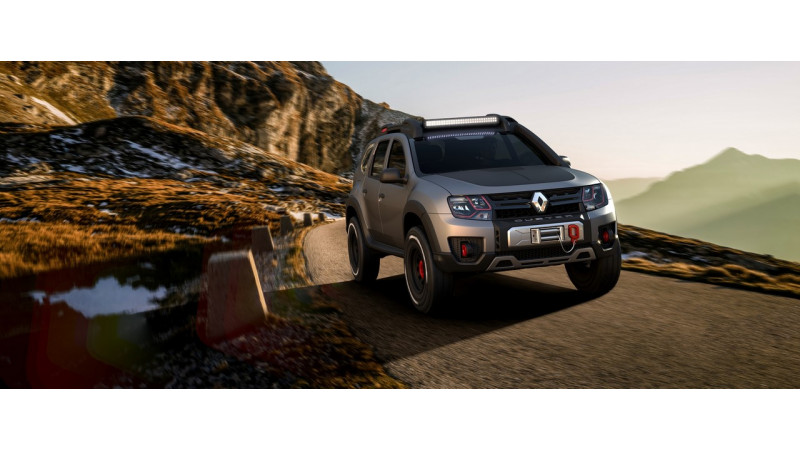 Renault Duster Extreme Concept unveiled in Brazil