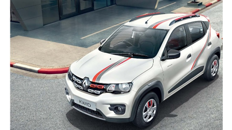 Renault Kwid    Live For More Edition    launched