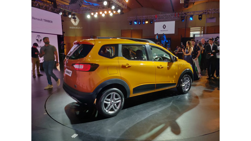 Renault unveils Triber in India ahead of August launch