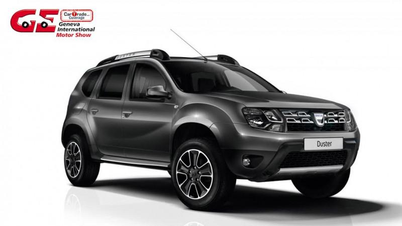 2017 Geneva Motor Show: Dacia to unveil Summit Special Edition Duster