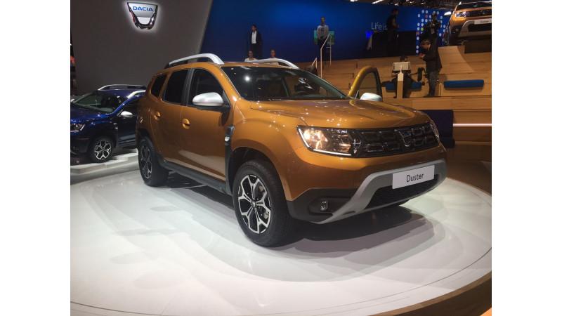 Frankfurt Auto Show 2017: New 2018 MY Renault Duster revealed
