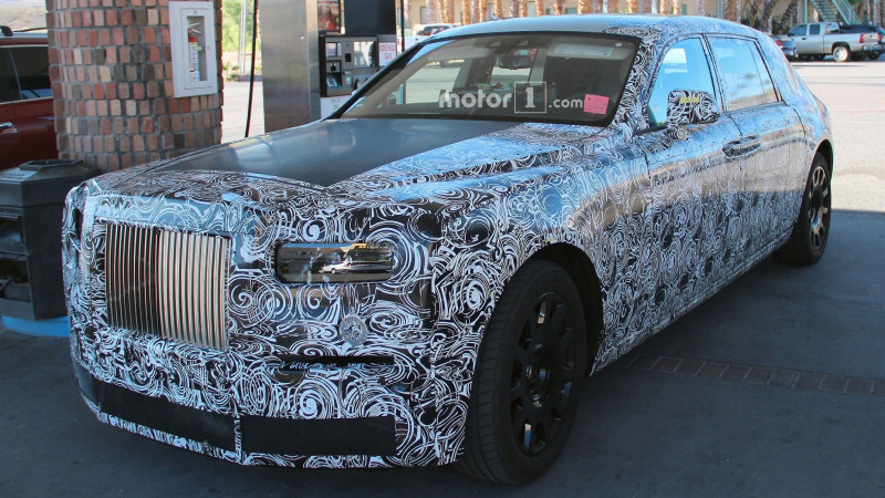 Rolls-Royce's next-gen Phantom spotted testing in the USA