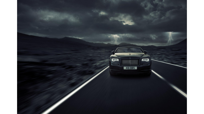 Rolls-Royce Dawn gets the Black Badge